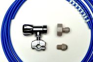 Fridge Plumbing Kit | 4M Pipe, Self cut Valve, Adaptor, Fridge Connector