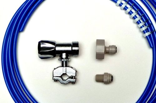 Fridge Plumbing Kit | 4M Pipe, Self cut Valve, Adaptor, Fridge Connector