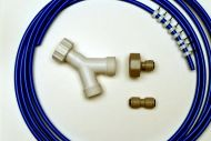 Fridge Plumbing Kit | 4M Pipe, Y Splitter & Pipe Connector