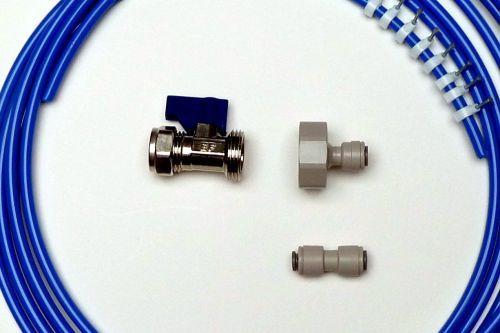 Fridge Plumbing Kit | 4M Pipe, Valve, Adaptor & Pipe Connector