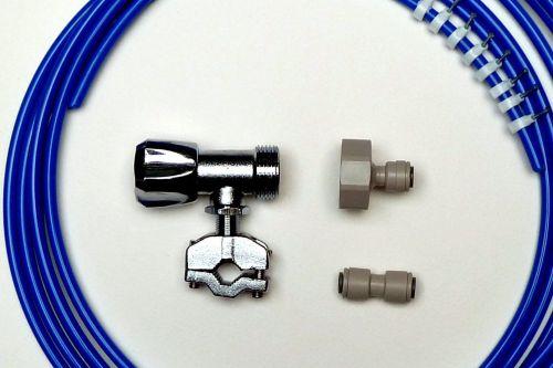 Fridge Plumbing Kit | 4M Pipe, Self cut Valve, Adaptor, Pipe Connector