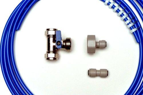 Fridge Plumbing Kit | 4M Pipe, Tee Valve, Adaptor, Pipe Connector
