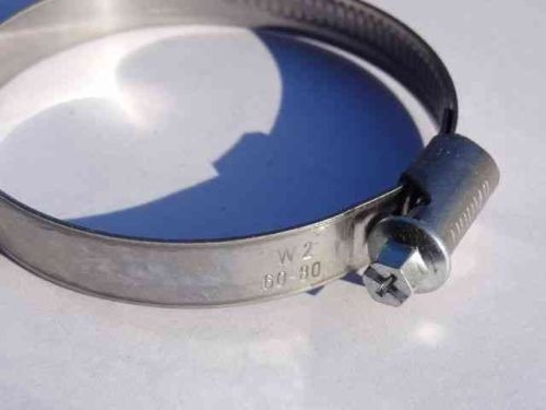 60-80mm Size 3 Worm Drive Hose Clip / Clamp