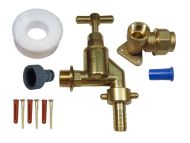 20mm MDPE Outside Tap Kit With Heavy Duty Tap