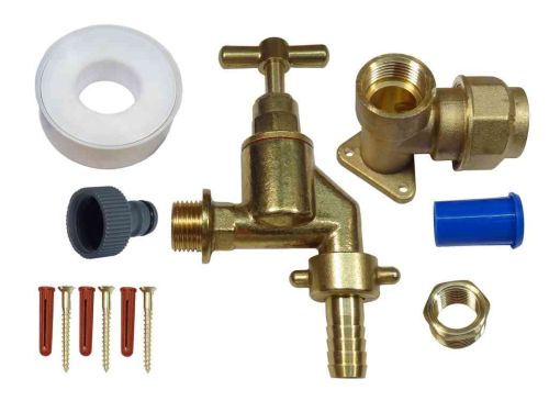 25mm MDPE Outside Tap Kit With Heavy Duty Tap