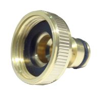 "7/8"" BSP Brass Tap Connector for 3/4"" Outside Tap"
