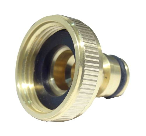 """7/8"""" BSP Brass Tap Connector for 3/4"""" Outside Tap"""