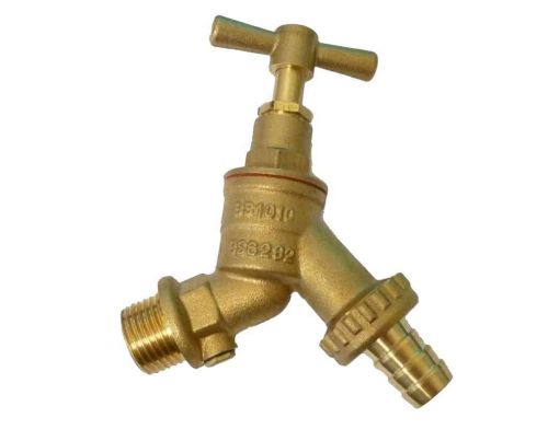 Outside Tap With Double Check Valve 1/2""