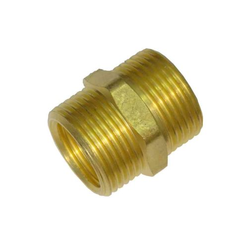 5/8 x 1/2 x 3/4 Inch Outside Tap Connector / Garden Hose Fitting Adaptor