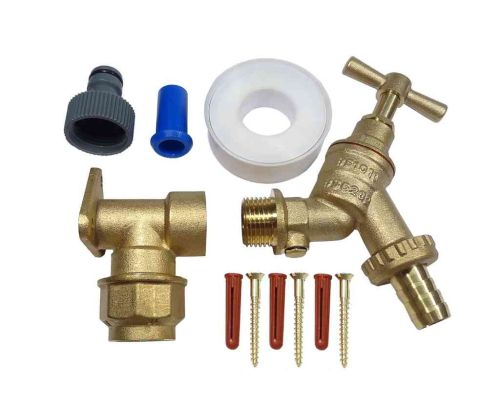 20mm MDPE Outside Tap Kit With Double Check Valve