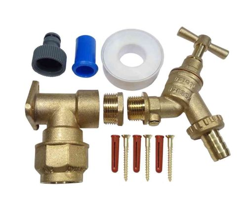 25mm MDPE Outside Tap Kit With Double Check Valve