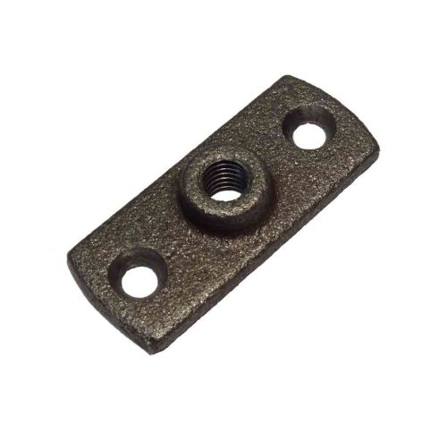 Black Malleable Iron Munsen Ring Backplate M10 Female