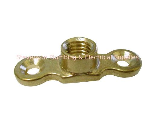 M10 (10mm) Female Brass Munsen Ring Backplate