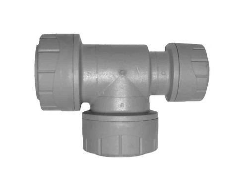 22mm x 15mm x 22mm Polyplumb Reducing Tee PB1422