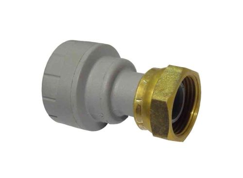 Polyplumb Tap Connector 22mm x 3/4"
