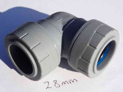 28mm Polyplumb Elbow | PB128