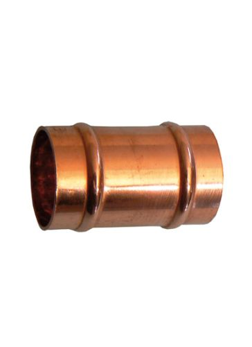 Solder Ring Slip Coupler 15mm (No Internal Stop)