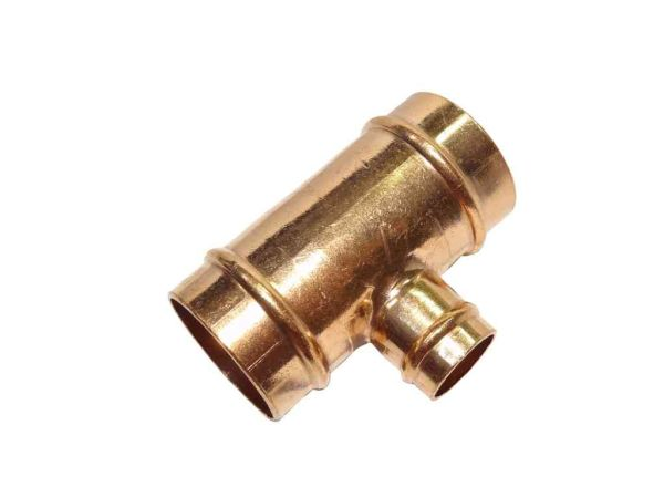 28mm x 28mm x 15mm solder ring tee stevenson plumbing electrical supplies. Black Bedroom Furniture Sets. Home Design Ideas