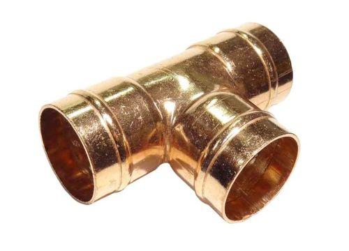 35mm Solder Ring Equal Tee