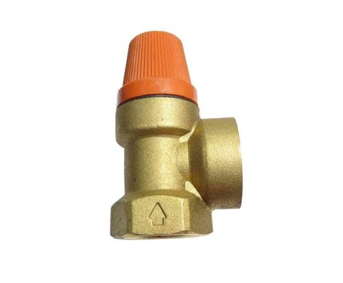 3 Bar Pressure Relief Safety Valve | 3/4 Inch FxF Female x Female