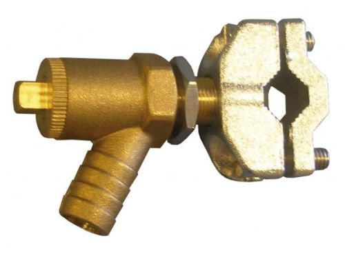 15mm Self Cutting Drain Off Cock Saddle Valve