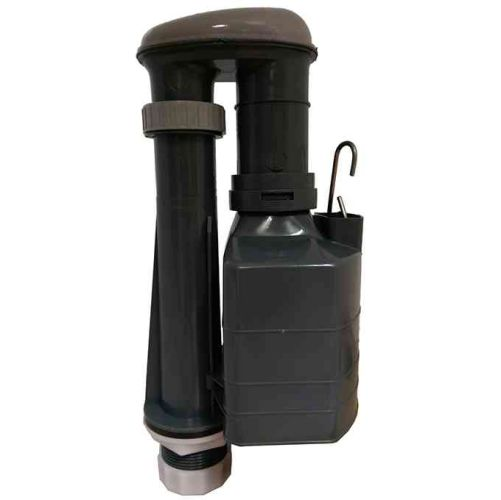 Derwent Macdee Metro 3 Part Syphon - D SHAPE Bell