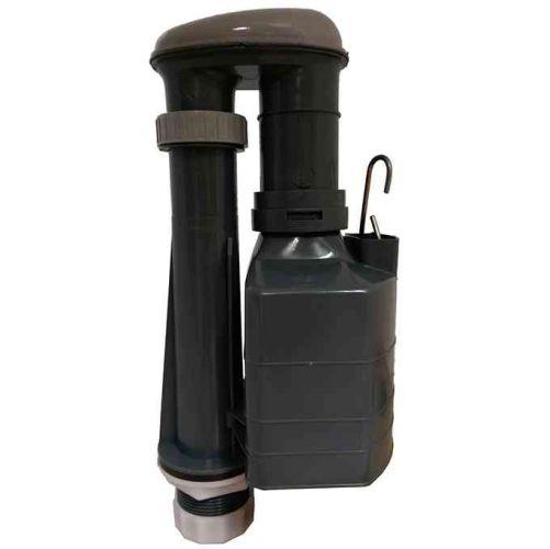 Derwent Macdee Metro 3 Part Toilet Syphon | D SHAPE Bell