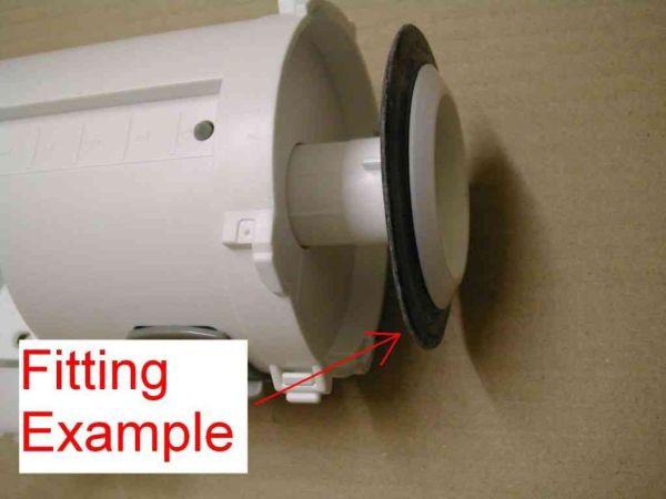 Siamp Optima 49 50 Flush Valve Outlet Seal 34490507