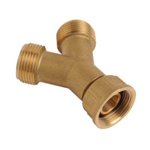 Brass Washing Machine Y Piece | Union Type