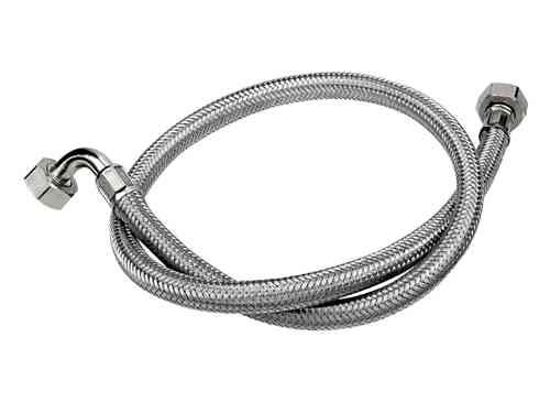 stainless steel braided washing machine inlet fill hose. Black Bedroom Furniture Sets. Home Design Ideas