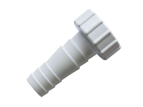 "Washing Machine Waste Pipe Connector Nozzle 1"" BSP Straight"