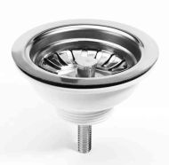 Basket Kitchen Sink Strainer Waste | With Plug