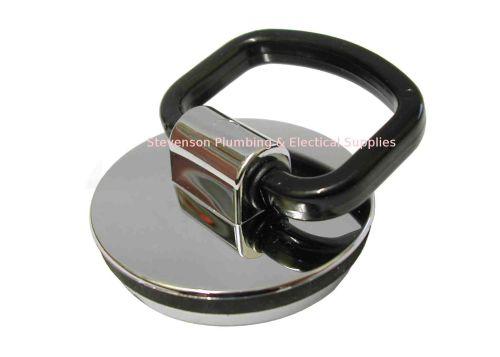 Kitchen Sink Plug / Bath Plug With Handle   Chrome
