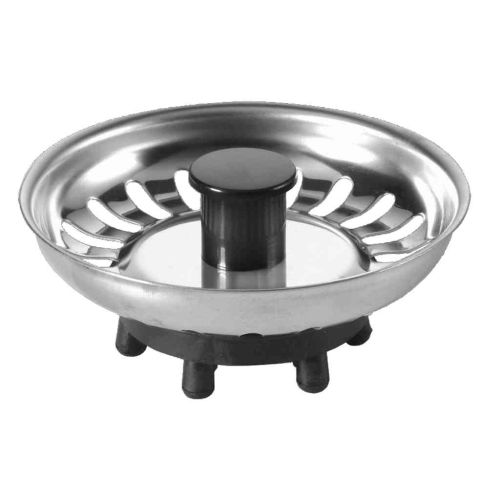 McAlpine Basket Kitchen Sink Plug | Rubber Finger Type