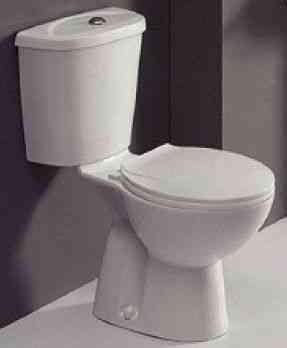 Close Coupled Toilet | Pan, Cistern and Seat