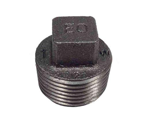 1 Inch BSP Black Iron Plug