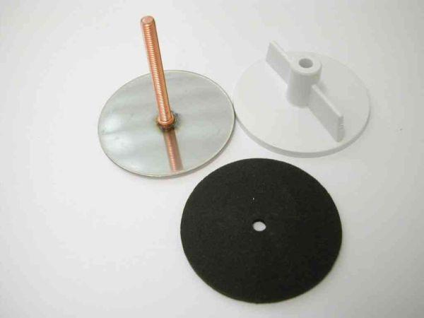 Franke Sink Tap Hole Cover : Chrome Tap Hole Stopper - 43mm x 40mm - Stevenson Plumbing ...