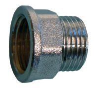 "Chrome Tap Thread Extension 1/2"" BSP Male to Female"