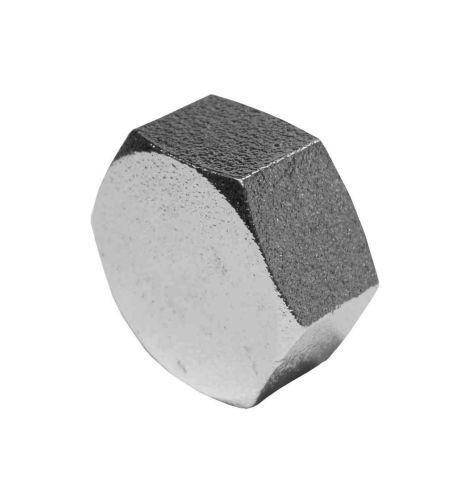 Chrome Plated 1/2 Inch BSP Brass Cap / Blank Nut