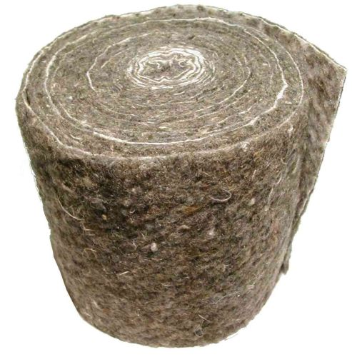 Wool Pipe Insulation Lagging / Wrap