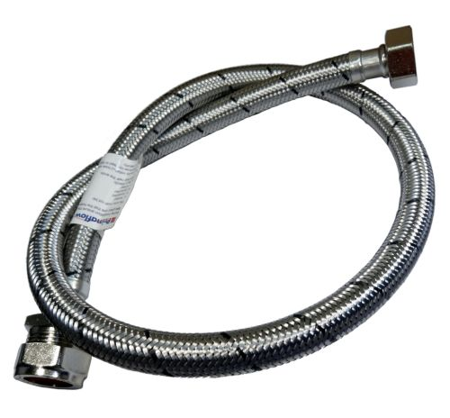 "22mm x 3/4"" BSP x 900mm Flexible Tap Connector"
