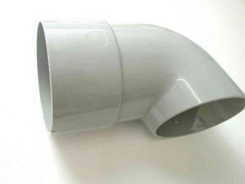 68mm Downpipe Shoe Grey