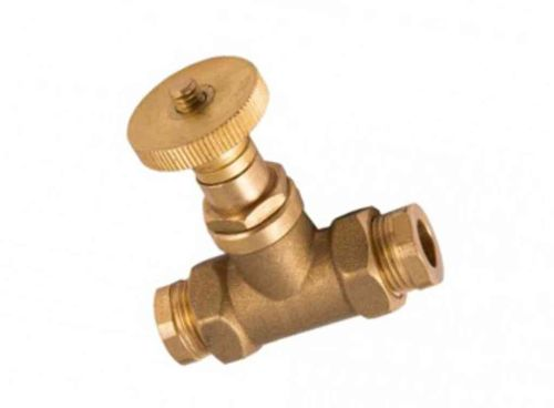 Oil Line Fire Valve 3/8 Inch BSP / 10mm | Fusible Head