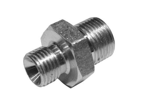"Heating Oil Line Adaptor Nipple 3/8"" x 1/4"" BSP"