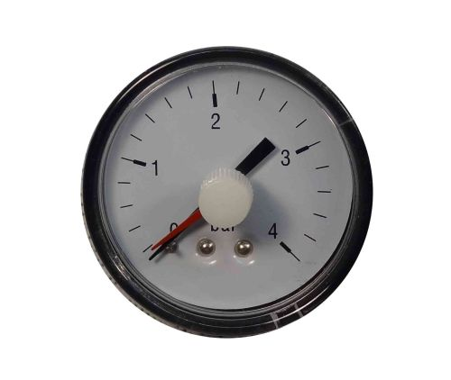 "Pressure Gauge 1/4"" BSP Back Connection 4 Bar"