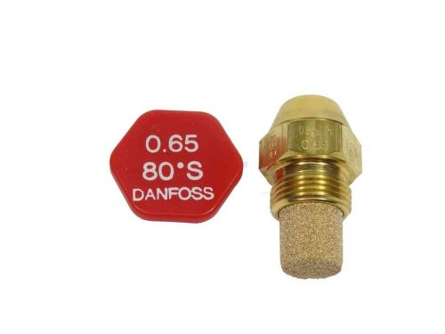 Danfoss Oil Burner Nozzle / Jet 0.65 x 80°S