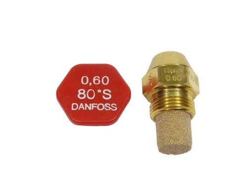 Danfoss Oil Burner Nozzle 0.60 USgal/h x 80S