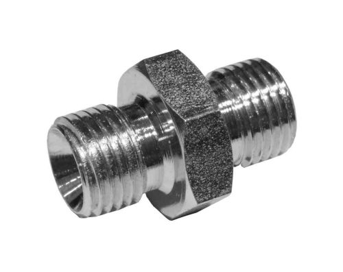 Oil Line Hose Nipple 1/4 Inch x 1/4 Inch BSP