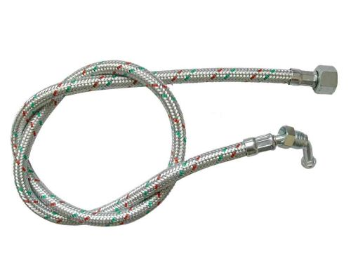 Oil Line Hose 1/4 Inch Male Elbow x 3/8 Inch Female