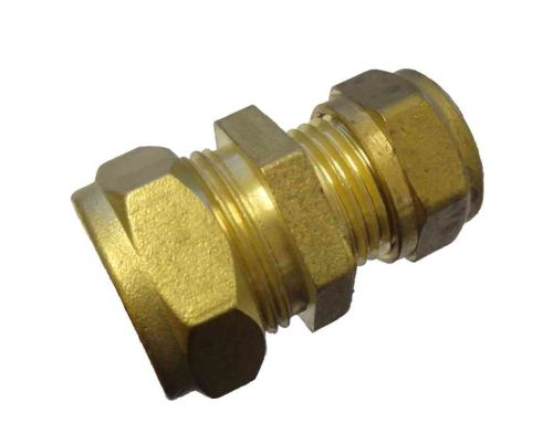 3/8 Inch 5lb Lead Pipe x 15mm Copper Pipe Coupler
